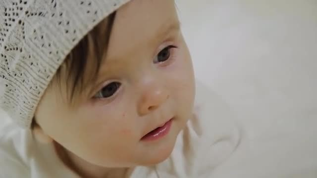 Adorable Baby: Stock Video
