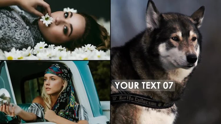 Clean Photo Opener: After Effects Templates
