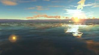 Lake Sunrise: Motion Graphics