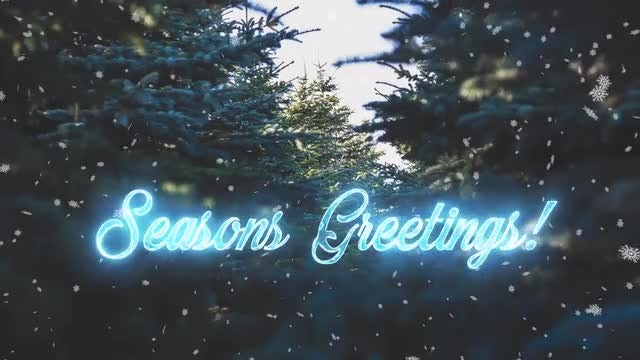 Animated Holiday Phrases: Stock Motion Graphics