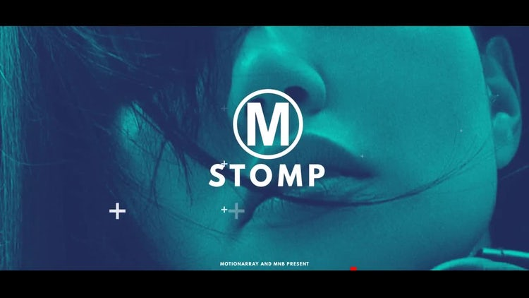Stomping Logo: After Effects Templates