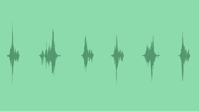 Glitch Movement And Transition: Sound Effects