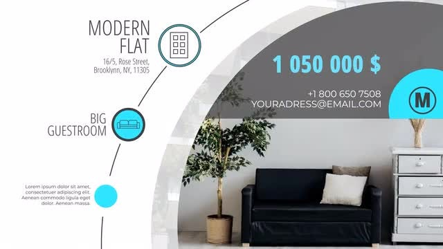 Modern Real Estate Promo: After Effects Templates