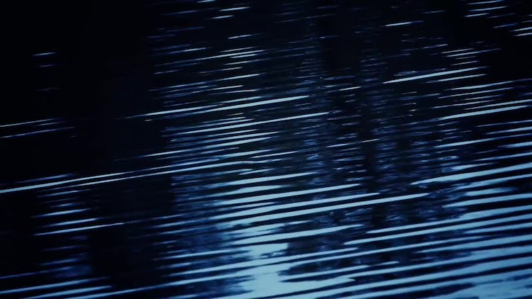 Night Water Ripples: Stock Video