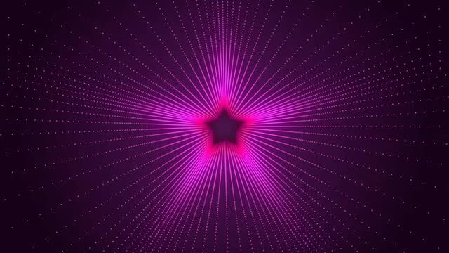 Retro Star Background: Stock Motion Graphics