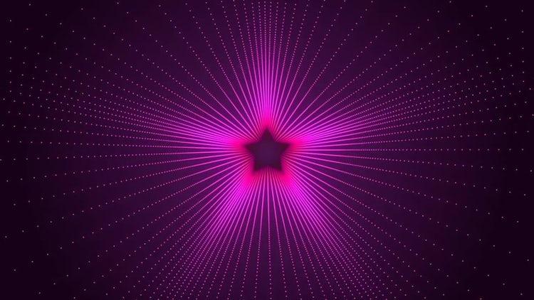 Retro Star Background: Stock Motion Graphics