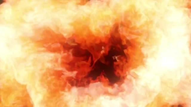 Fireball Transition: Stock Motion Graphics