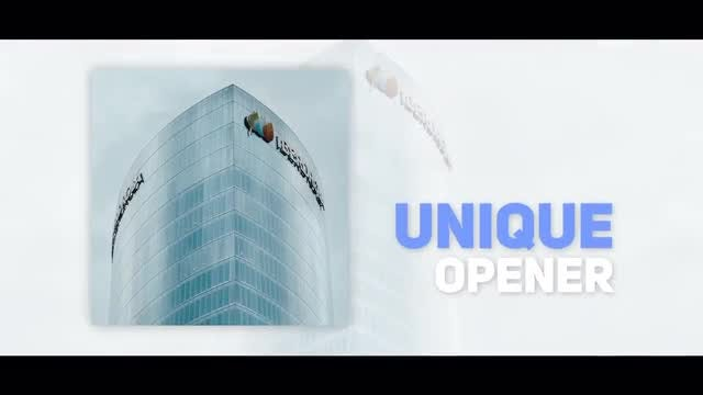 Simple Corporate Opener: After Effects Templates
