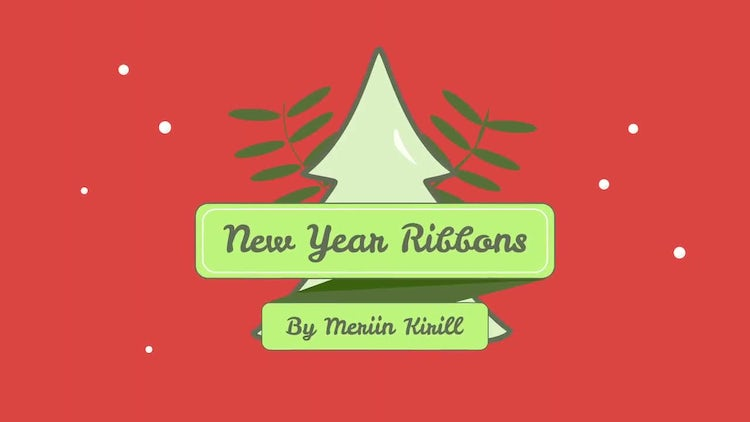 Holiday Ribbons: After Effects Templates
