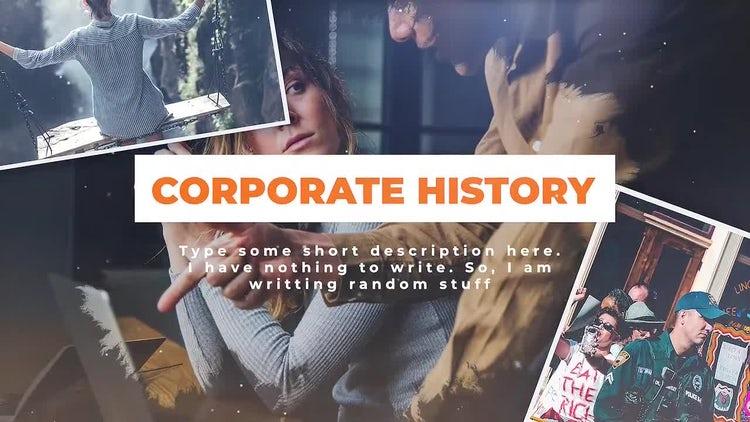 Corporate History: Premiere Pro Templates