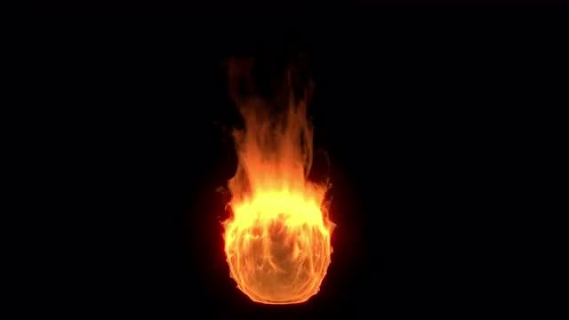 Fire Glowing: Stock Motion Graphics