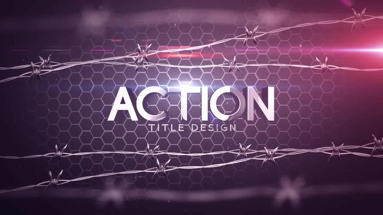 Action Title Design: After Effects Templates