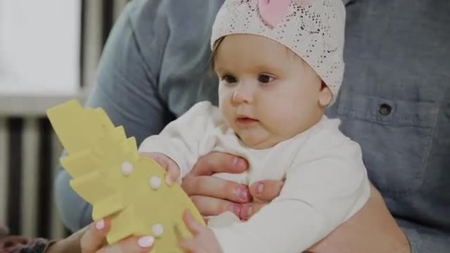 A Toy For Baby: Stock Video