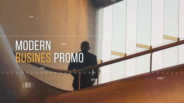 Modern Busines Promo: After Effects Templates