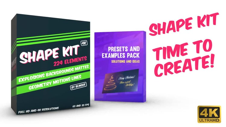 Shape Kit: After Effects Templates