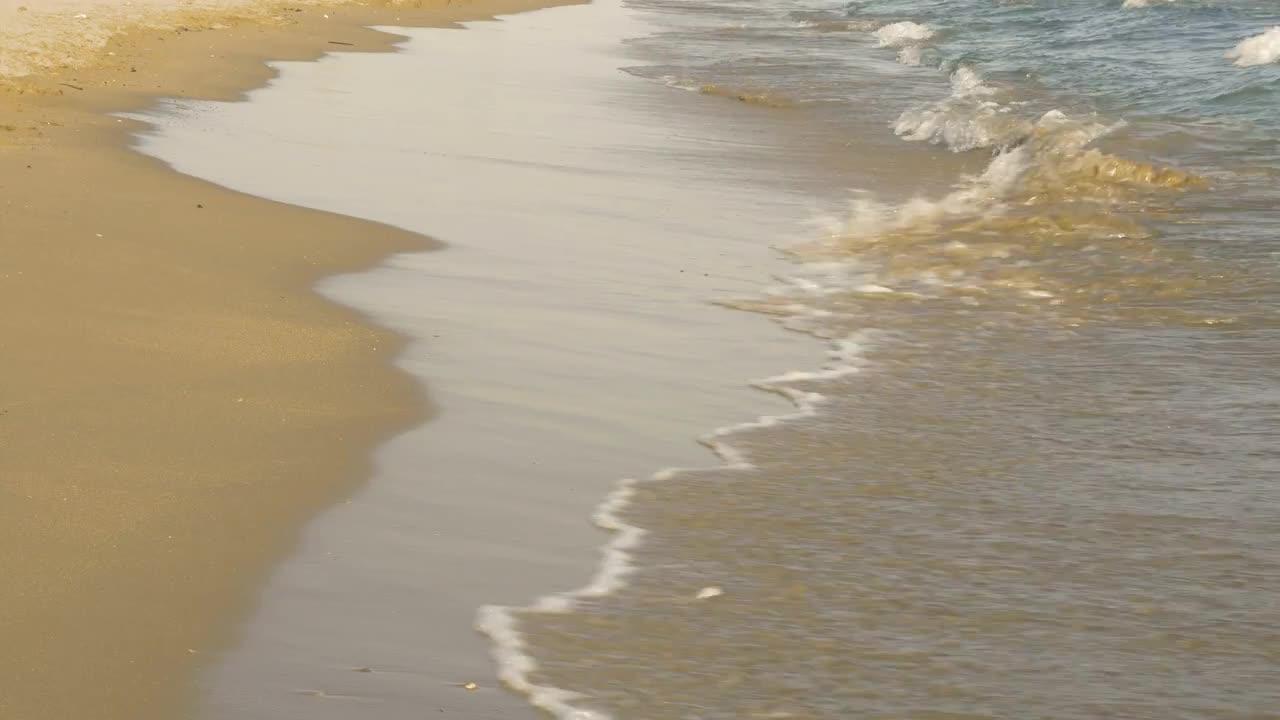 Ocean Waves On Beach - Stock Video   Motion Array