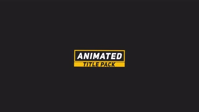 Smooth Minimal Title 2: After Effects Templates
