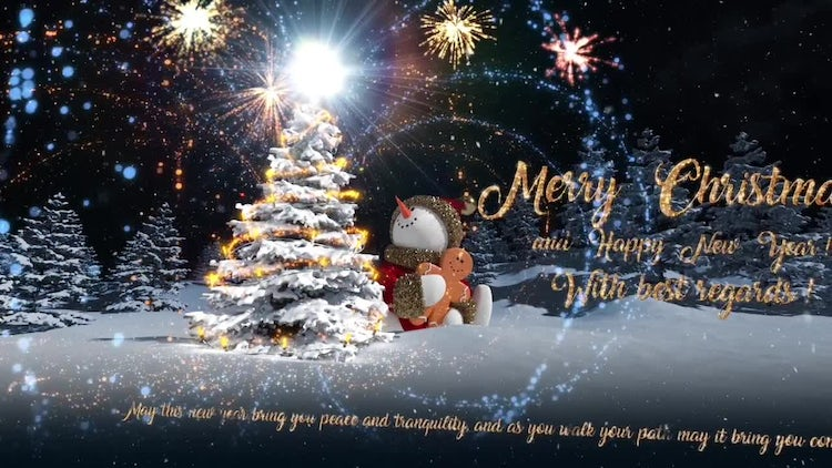 Christmas Cards Pack: Motion Graphics