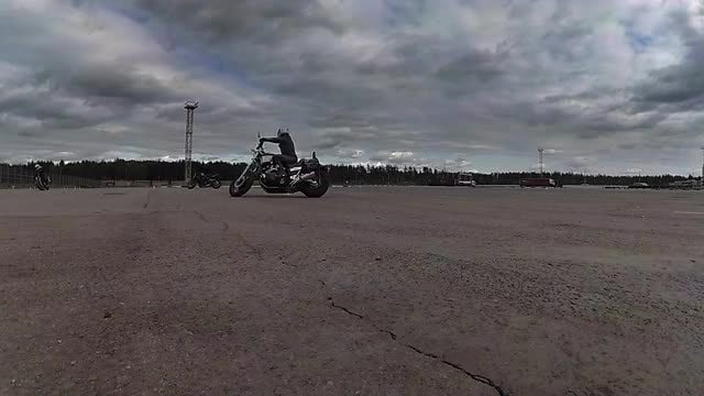 Motorcycle Stunts: Stock Video