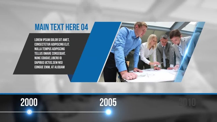 Corporate Profile Timeline: After Effects Templates