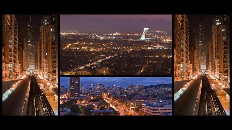 Mirror City: Premiere Pro Templates