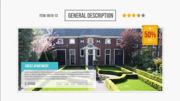 Bundle Real Estate Presentation: After Effects Templates