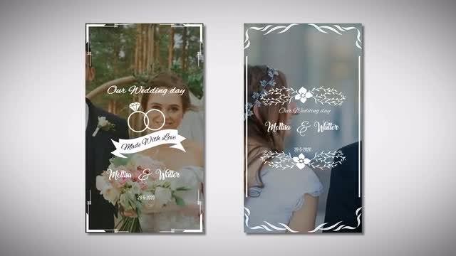 Instagram Wedding Story: Motion Graphics Templates