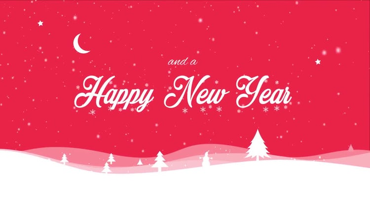 Christmas and New Year Greeting: After Effects Templates