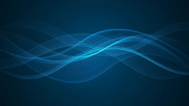 Wavy Lines: Stock Motion Graphics