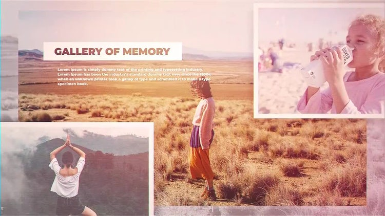 Gallery Of Memories: After Effects Templates