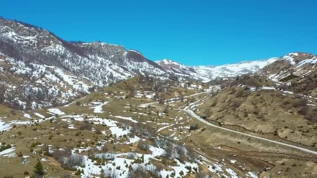 Beautiful Mountain Landscape: Stock Video