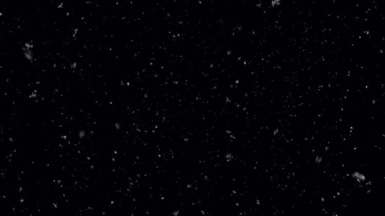 Realistic Snowfall 08: Stock Motion Graphics