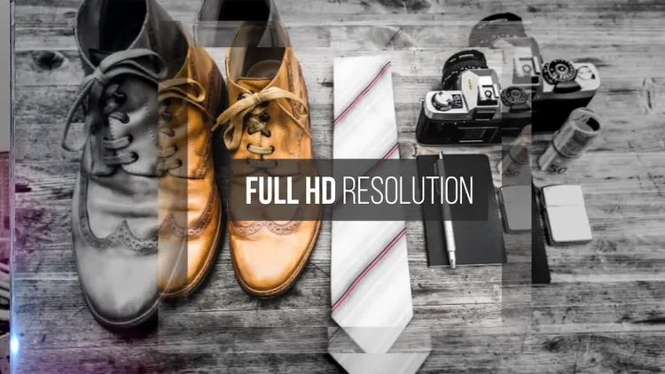 Modern Slides: After Effects Templates