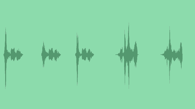 Interface Effects: Sound Effects
