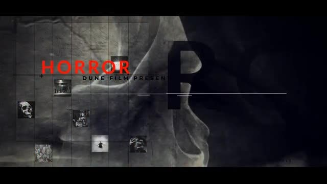 Horror Movies Titles: After Effects Templates
