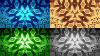 Metal Stripes Kaleidoscope Pack: Motion Graphics