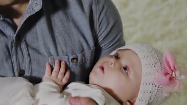 Sleeping Baby Girl: Stock Video