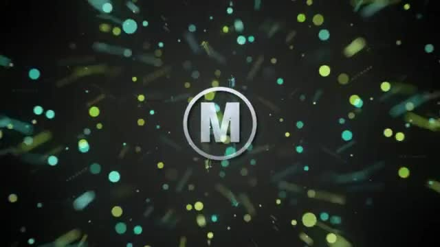 Fast Particle Logo: After Effects Templates