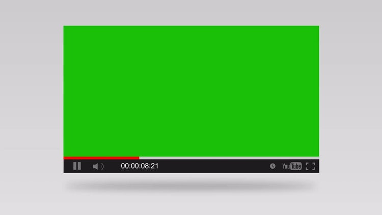 Youtube Video Player : Stock Motion Graphics