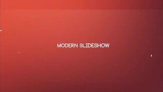 Modern Sldieshow: After Effects Templates