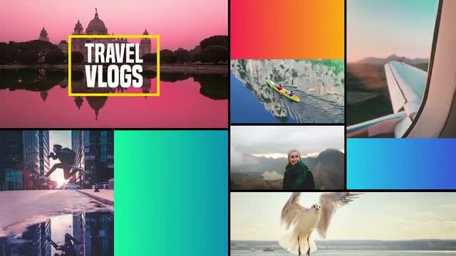 Multipurpose Slideshow: After Effects Templates
