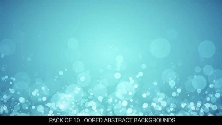 10 Looped Abstract Backgrounds: Motion Graphics