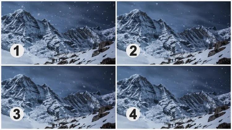 Snow: Motion Graphics