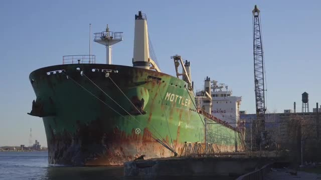 Freight Ship: Stock Video