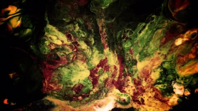 Dark Paint Background: Stock Video