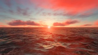 Ocean Sunset: Motion Graphics