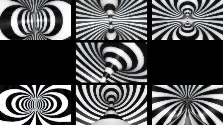 Hypnotic Torus Loop Pack: Stock Motion Graphics