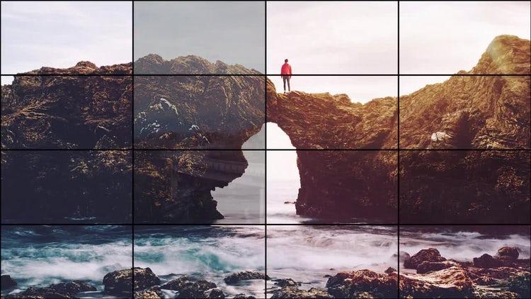 Grid Slideshow: Premiere Pro Templates