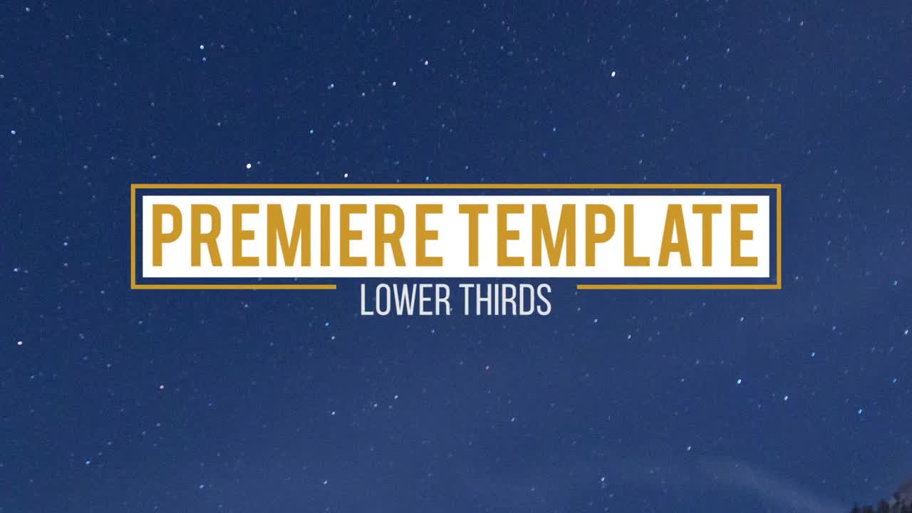 10 lower thirds premiere pro templates motion array