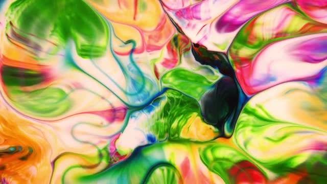 Paint Movement: Stock Video